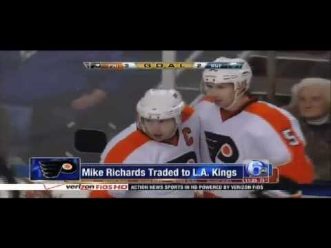 Flyers trade Mike Richards Jeff Carter...