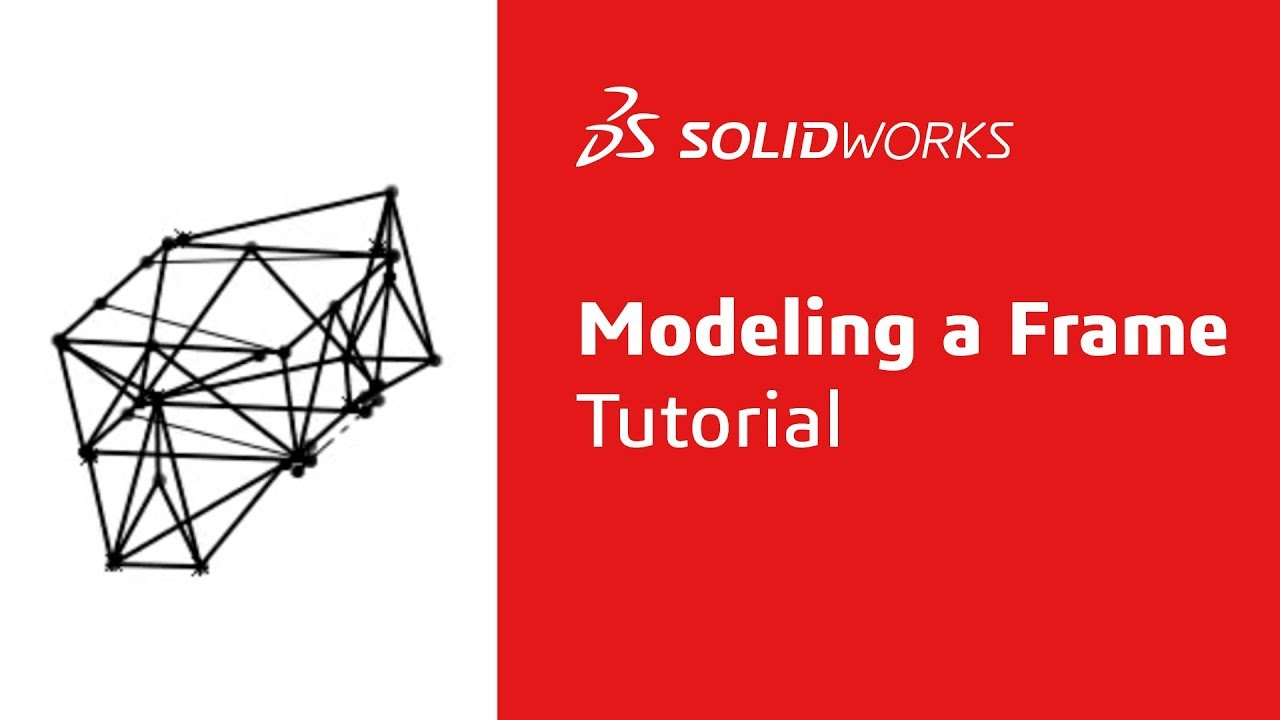 Modeling An Fsae Frame In Solidworks Youtube