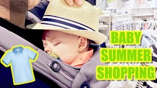 👶🏼SUMMER CLOTHES SHOPPING!👗 10 Month Baby Checkup! 💉