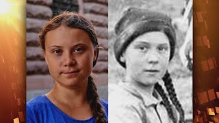Greta Thunberg Isn't the 1st to Have a Historic Doppelganger