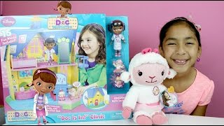 Doc McStuffins Doc Is In! Clinic *Play House* 15 Toys & Talking Figures| B2cutecupcakes