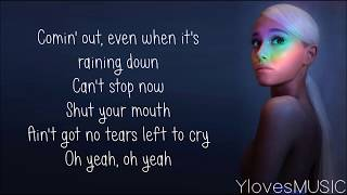 Download Lagu Ariana Grande - No Tears Left To Cry (Lyrics) Gratis STAFABAND