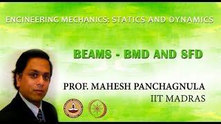 Mechanics of Solids - IITM 2.9 Beams - BMD & SFD