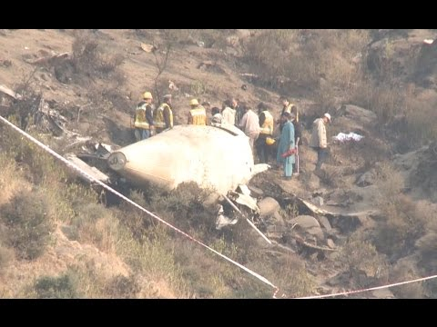 Witnesses Recall the PIA Flight PK-661 Plane Crash in Pakistan
