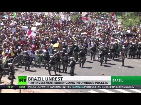 Million-strong anti-govt protests sweep Brazil, 1 killed