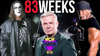 Eric Bischoff and Conrad Thompson argue the finish for Hulk Hogan vs Sting