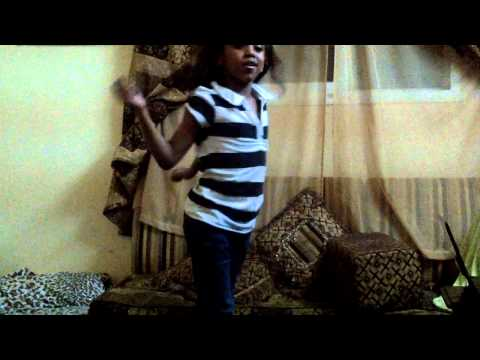 My Baby Girl Dina Doing The Oliver Twist.mp4 video