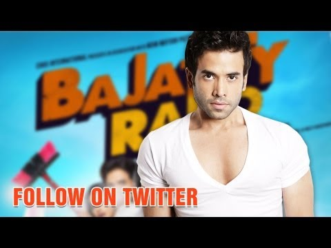 Follow Tusshar Kapoor On Twitter - 'Bajatey Raho'