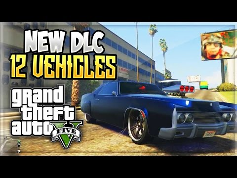 GTA 5 - 12 NEW DLC CARS Update Leaked News! (GTA 5 ONLINE)