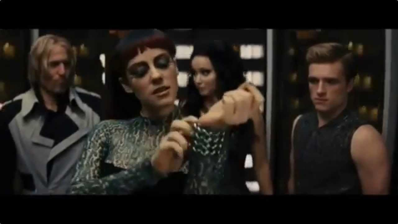 The Hunger Games: Catching Fire Elevator Scene - YouTube