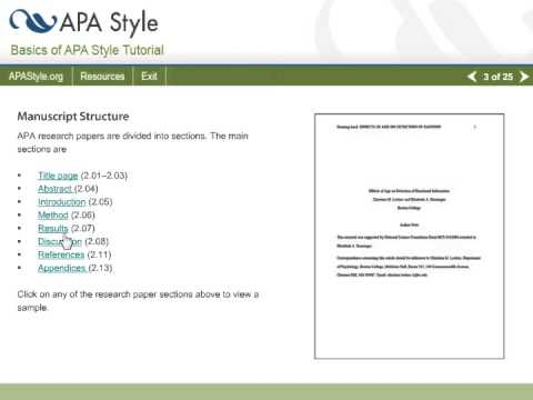 Apa style guide for reports