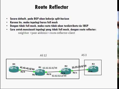 CCIE Tutorial Series in Bahasa: BGP Route Reflector