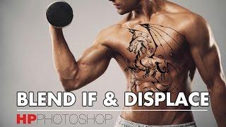 Ghép hình xăm - Ghép chất liệu vào chủ thể  | HPphotoshop.com