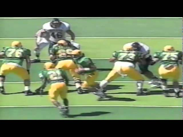 Oregon TE Blake Spence 16 yards on backside screen vs. Nevada 9-07-96
