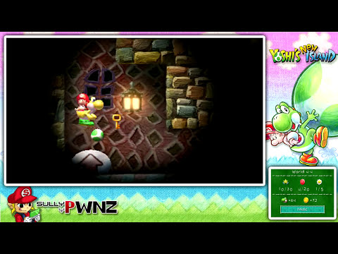 Yoshi's New Island - Let's Play - World 4 (1/2)