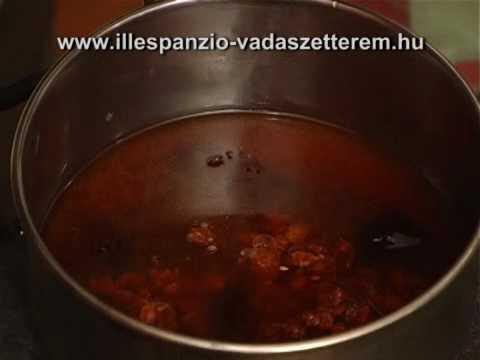 Vadrecept - Vaddisznó szűzérme csipkebogyómártással