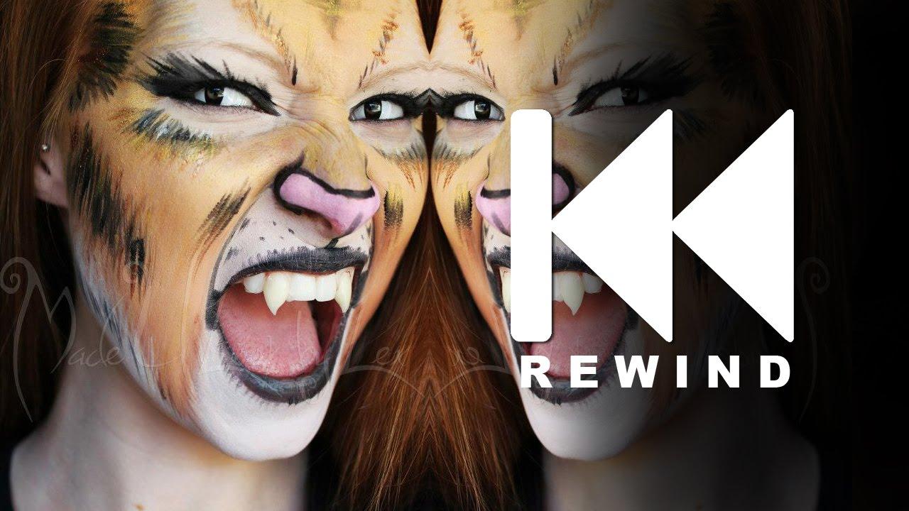 Tiger Makeup Tutorial Rewind