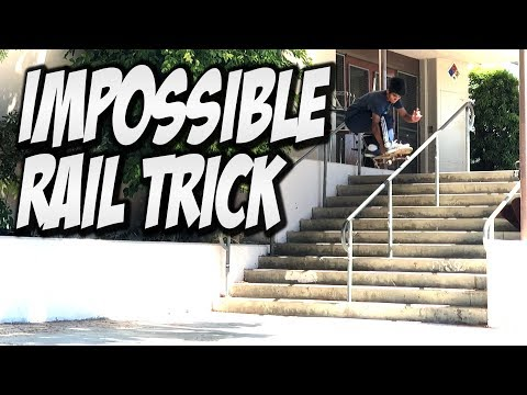 IMPOSSIBLE TRICK DOWN HANDRAIL AND MUCH MORE !!! - NKA VIDS -