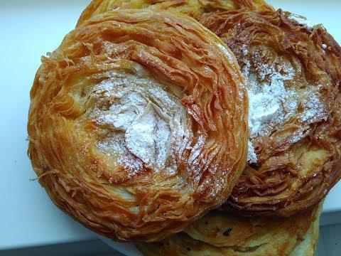 Сладкая Катлама по Таджикскому  Супер вкусный катлама !! Katlama delicious