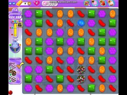 candy crush saga DreamWorld  level  215 ★★★