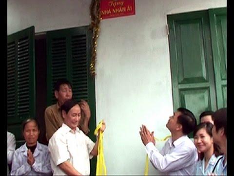 Lễ khánh thành va bàn giao nhà nhân ái cho ông Phạm Đình Hòa - Phường Tràng Minh
