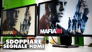 Video HDMI su più schermi tramite cavi Ethernet | Techly Kit Extender 383