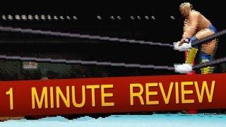 Sega Saturn - All Japan Pro Wrestling Featuring Virtua (1 Minute Review)