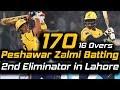 Peshawar Zalmi Best Batting In PSL | Eliminator 2 | Peshawar Zalmi Vs Karachi Kings | HBL PSL 2018
