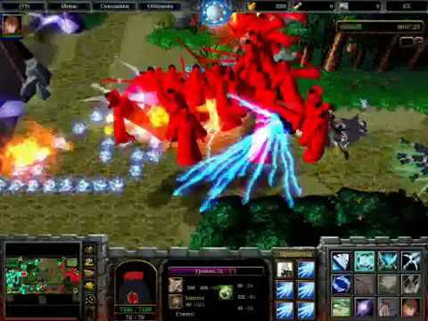 Warcraft 3.   Map- Naruto Wars EX   (part 3).wmv