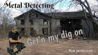 Permission is new but the coins are old - Metal Detecting video w/ Garrett AT Pro