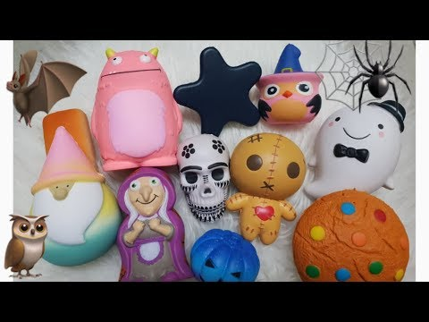 SEREMMM ! HALLOWEEN SQUISHY TAG BY JENNICAZONE