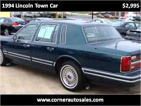 1994 Lincoln Town Car Used Cars Coldwater Oh Youtube