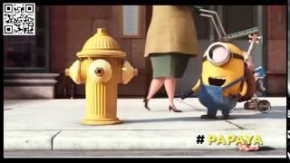 #Minions - Ho ! Hohoho ! Hello #Papagena, tu es bella comme la #Papaya...