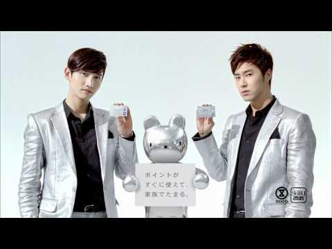 110518 [CF] Changmin & Yunho - Seven & I Holdings (Sogo & Seibu Point Card)