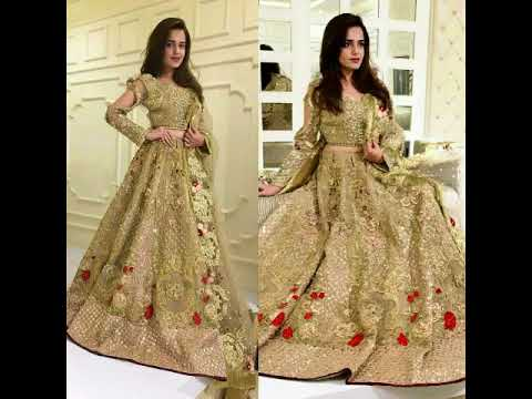 Latest Pakistani Maxi Dresses  2018