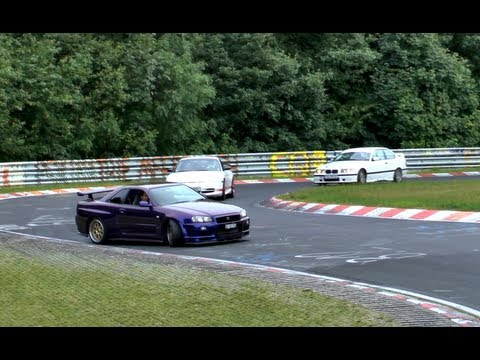 Best of Adenauer Forst 2012 Touristenfahrer Nürburgring Nordschleife Crash/Drift/Fail Compilation