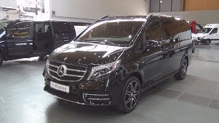 Mercedes-Benz V 250 d Exclusive 4MATIC (2018) Exterior and Interior