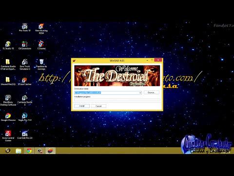 Descargar Winrar Full Activado Mas Serial + Crack- Ultima Version 2014 32bits y 64bits