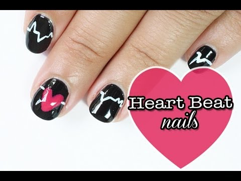 Demi Lovato heart attack nails