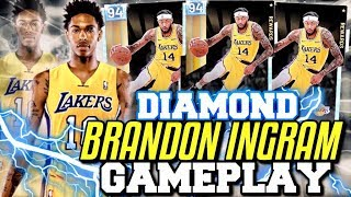 DIAMOND BRANDON INGRAM GAMEPLAY! HES A BUDGET KEVIN DURANT AND THE BEST DIAMOND REWARD! NBA 2K19