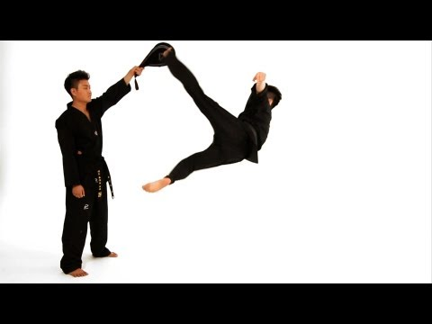 How to Do a Bolley Kick | Taekwondo Training Image 1