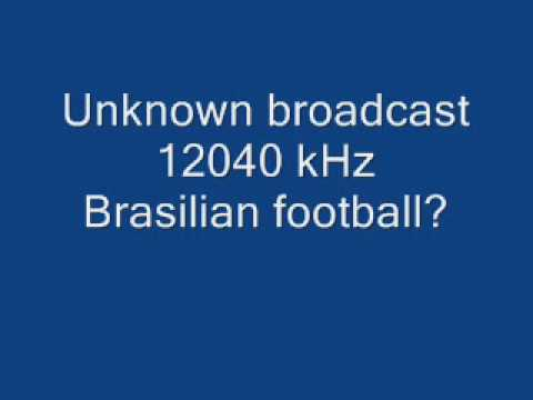 Unknown Broadcast - Brasilian Football?