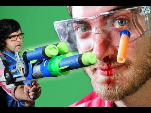 Epic Gun Battle - Rhett & Link Music Videos