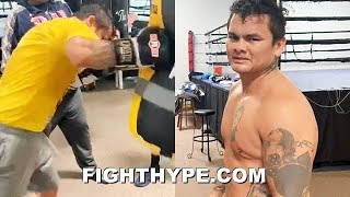 MAIDANA SMASHES INTO PHASE 3 OF TRAINING FOR COMEBACK; UNVEILS PHYSIQUE AFTER GOING ALL OUT