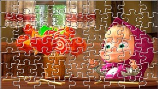 MASHA AND THE BEAR Jigsaw Puzzle ★ Games and Cartoons for Kids
