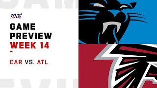 Carolina Panthers vs Atlanta Falcons Week 14 NFL Game Preview