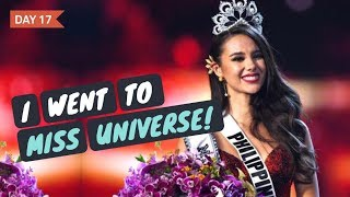 I WENT TO MISS UNIVERSE 2018!! Recap and Review - 2018 Vlogmas Day 17 ohitsROME