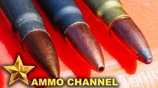 7.62x39 Bullet Expansion: Soft Point vs. Hollow Point vs. FMJ - Brown Bear, Golden Bear, TulAmmo, AK