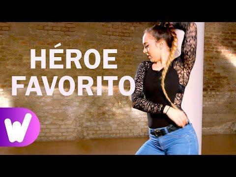 Héroe Favorito - Romeo Santos   COREOGRAFÍA paso a paso   Tutorial de baile