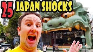 Top 25 Things that Shock Foreigners in Japan